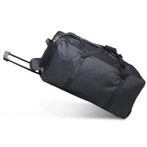 Everest 36-Inch Deluxe Wheeled Duffel Color Black