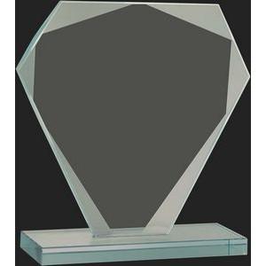Rosewood Royal Piano Finish Pedestal Award Base with Felt Center